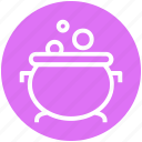halloween cauldron, halloween cooking pot, halloween cookpot, halloween pot, scary, scoopy icon