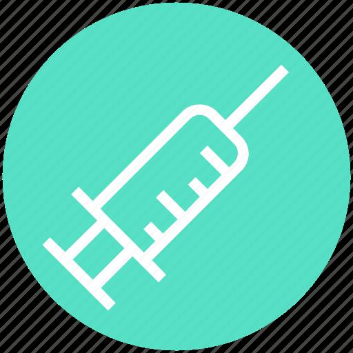 drug, halloween, injection, medical, october, syringe, vaccine icon