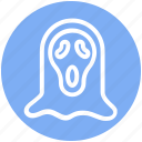 dreadful, fearful, halloween scream mask, halloween werewolf, horrible, scary icon