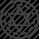circle, halloween, magic icon