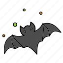 animal, bat, halloween, horror icon