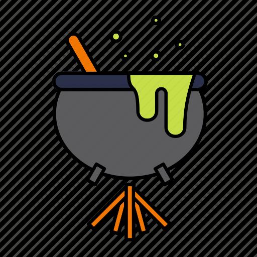 cauldron, halloween, magic, poison, witch, witchcraft icon