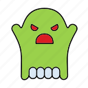 cute, friend, ghost, halloween, scary, smile, sweet icon