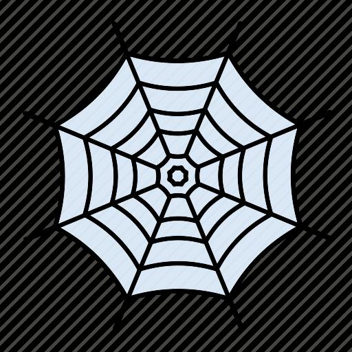 decoration, halloween, scary, spider, web icon