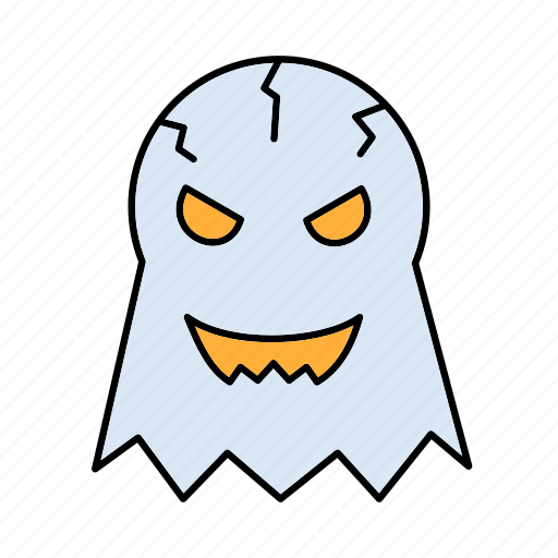 evil, fly, ghost, halloween, spirit icon