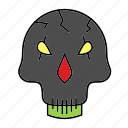 evil, halloween, jason, killer, mask, monster icon