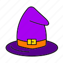 fairy, halloween, hat, magic, tale, witch, wizard icon