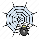 halloween, spider, spiderweb icon