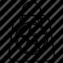 bag, halloween, horror icon
