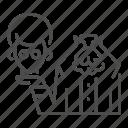ghost, halloween, head, headless, horror, man, suit icon