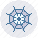 dreadful, fearful, ghastly web, halloween web, horrible, scary, spider web