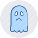 evil, evil spirit, ghost, halloween black ghost, halloween ghost, scary evil ghost icon