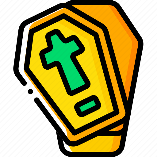Coffin, creepy, dead, halloween, open, skeleton, vampire icon - Download on Iconfinder