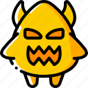 creepy, devil, evil, halloween, scary, spooky icon