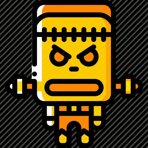 Creepy, evil, frankenstein, monster, scary icon - Download on Iconfinder