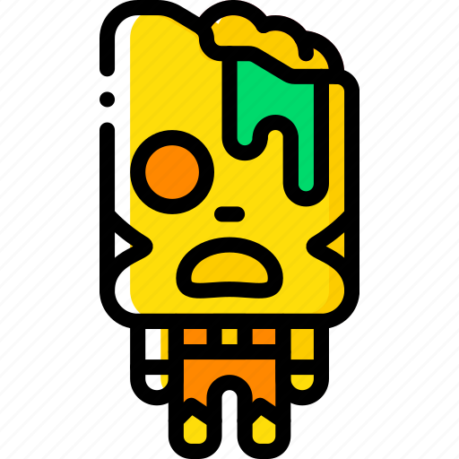 Brain, creepy, dead, scary, zombie icon - Download on Iconfinder