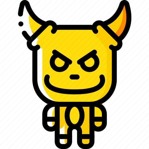 Creepy, devil, evil, monster, scary icon - Download on Iconfinder