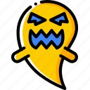 creepy, dead, evil, ghost, scary, spooky icon