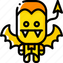 creepy, curse, devil, evil, halloween, scary icon