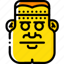 creepy, evil, frankenstein, monster, scary icon