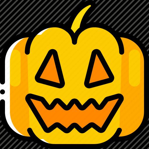 Halloween, jack'o'lantern, pumpkin, smile, spooky icon - Download on Iconfinder