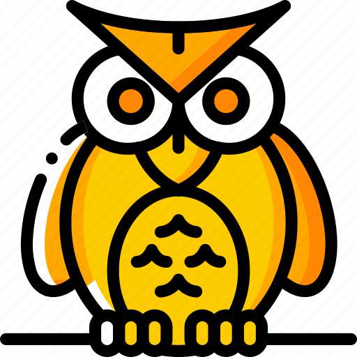 Creepy, haunted, hoot, ominous, owl, spooky icon - Download on Iconfinder