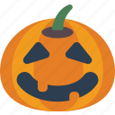 creepy, halloween, happy, jack'o'lantern, pumpkin, spooky icon