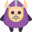 creepy, devil, evil, jason, killer, mask, scary icon