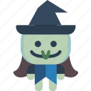 creepy, curse, evil, hat, spell, witch