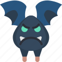 angry, animal, bat, creepy, night, scary, vampire