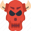creepy, curse, devil, evil, scary, souls icon