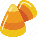 candy, corn, costume, halloween, sweets, trick or treat icon