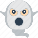 boo, creepy, dead, ghost, scare, scary, spooky icon
