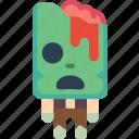 brain, creepy, dead, scary, zombie