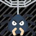 creepy, evil, scary, spider, venom, web