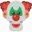 clown, creepy, evil, halloween, it, scary