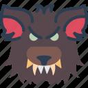 animal, creepy, legend, monster, scary, werewolf, wolf