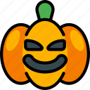 creepy, evil, halloween, jack'o'lantern, pumpkin, spooky icon