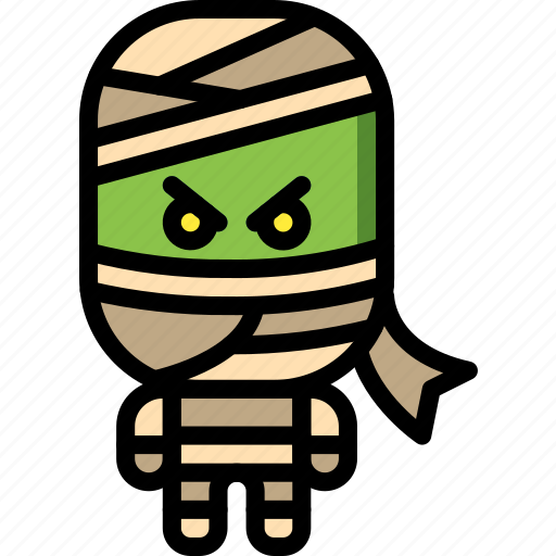 Creepy, dead, egyptian, mummy, scary, zombie icon - Download on Iconfinder