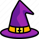 curse, spell, halloween, witch, costume, hat