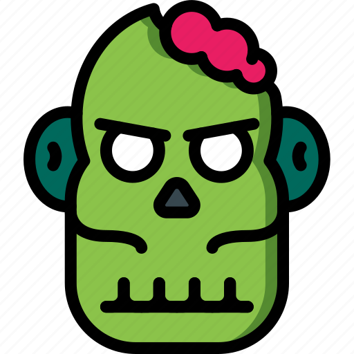 Brain, creepy, dead, evil, scary, zombie icon - Download on Iconfinder