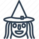 cauldron, halloween, hat, horror, magic, witch, wizard icon