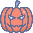 halloween, horror, pumpkin icon