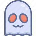 ghost, halloween, smile icon