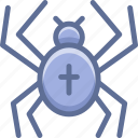 halloween, insect, spider icon