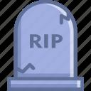 death, funeral, grave, rip icon