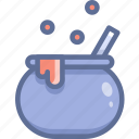 cauldron, halloween, potion