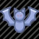 animal, bat, halloween icon