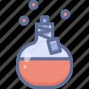 bottle, halloween, potion icon