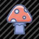 amanita, halloween, mushroom